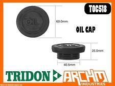 TRIDON TOC519 - OIL CAP - METAL BAYONET - COVER ORIFICE ENGINE OIL SUPPLY