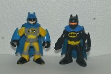 Fisher Price Imaginext Super Friends 2 BATMAN DC Comics S 08 Used Very Good Cond
