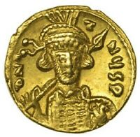 668 AD to 685 AD Constantine IV Gold Solidus Roman Byzantine Empire CGS 40