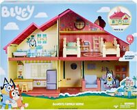 BLUEY'S FAMILY HOME HOUSE PLAYSET + Bluey Figurine  -  FAST POST