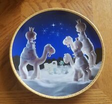 Enesco Precious Moments Collector Plate - They Followed The Star (1995)