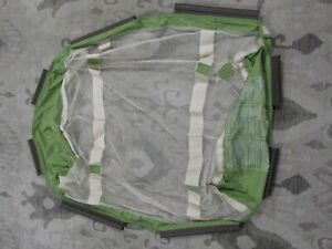 Graco Pack N Play Replacement Clip On Mesh Bassinet Insert no Poles Brown Green