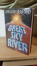 Great Sky River  Gregory Benford (1987, Hardcover)  Science Fiction