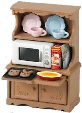 Epoch Calico Critters furniture cupboard oven range set KA -413