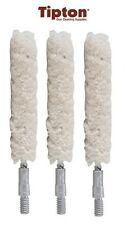 Tipton Bore Cleaning Mop 40 to 45 Cal 8 x 32 Thread Cotton 3 Pack # 676648