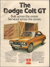 1973-Dodge Colt GT`Gold 2-door