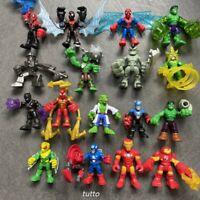30+ Playskool Marvel Super Hero Squad Power Up Adventures Figures Toys Kids Gift