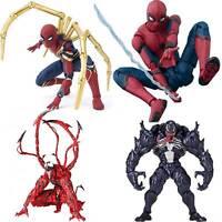 Hot Hero Marvel Spiderman Venom Series PVC Action Figure Model Toys Kids Gifts