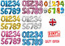 Large number Foil Ballons birthday party balloons 0 1 2 3 4 5 6 7 8 9 Baloons