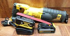 DeWALT DCS380 20-Volt MAX Li-Ion Reciprocating Saw, W/2 5Ah/1.5Ah Battery
