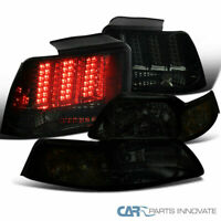 Ford 99-04 Mustang Smoke Headlights+LED Sequential Turn Signal Tail Brake Lamps