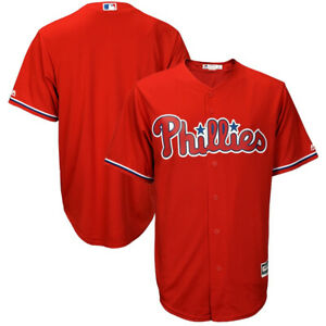 Philadelphia Phillies Majestic Big & Tall Cool Base Replica Team Jersey 4XL
