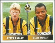 PANINI FOOTBALL LEAGUE 95 -#426-CAMBRIDGE UNITED-STEVE BUTLER / OLLIE MORAH