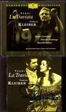 Placido Domingo signée VERDI: LA TRAVIATA Ileana cotrubas Carlos Kleiber 2cd