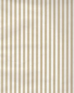 Vintage Gold & White Striped Gift Wrap Wrapping Paper All Occasion Birthday Tan