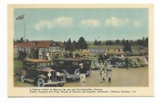 CALLANDER ONTARIO Dafoe Hospital and Play House of Dionne Quintuplets, Autos