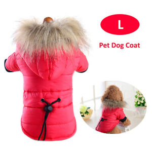 Pet Dog Coat Winter Warm Clothes Puppy  Small Dogs Pets Clothing J0G8