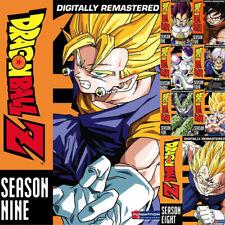 DRAGON BALL Z The Complete UNCUT Season 1-9 DVD Series 1 2 3 4 5 6 7 8 9 New