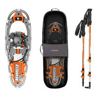 Yukon Charlie's Advanced 8 x 25 in. Men's Snowshoe Kit w/ Poles & Bag | 80-3002K