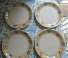 More details for m & s  wild fruits plates 11 inch set of 4   £24.99 (post free uk)