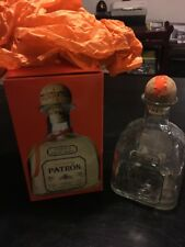 Patron Reposado Tequila 100% De Agave 750ml empty bottle W/cork and with box