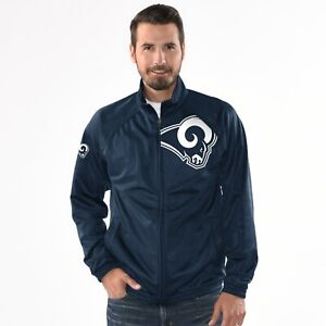 Los Angeles Rams NFL Synergy Track Jacket - Navy By G-III