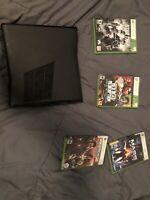 Xbox 360 Slim 120GB Console (includes 4 Games)
