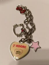 Hello Kitty Collectable  1978 Sanrio Charms Bracelet