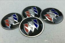 4x 65MM BUICK WHEEL CENTER CAP DECAL STICKER VERANO CENTURY ENCORE ENCLAVE