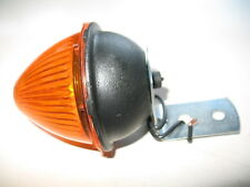 Sate Lite 157 NOS Beehive Amber Trailer Light Lamp SAE P2 PC 75 w/ Bracket 1004A