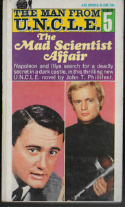 The Man From U.N.C.L.E. TV Book #5: The Mad Scientist Affair Paperback 1966