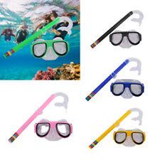 Schnorchelset Tauchset Taucherbrille Tauchmaske Schnorchel Set für Kinder