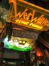 White Water WW Wet Willie's RIVER RANCH CABIN W/glowing SIGN LED mod (WILLIAMS)