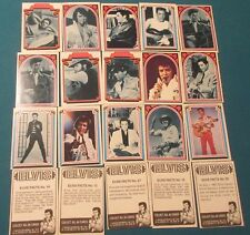 1978 Collectible Elvis Presley, Trading Cards