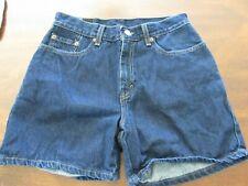 Levi's Jeans shorts womens size Misses 6 100% cotton Dark blue