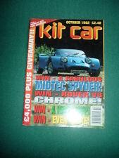 KITCAR MAGAZINE Back Issue October 1992