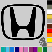 "2x Honda Badge Logo 3""! GLOSS or MATTE! Vinyl Decal Sticker Car, Laptop!!"