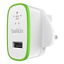 Belkin MixIt Colour Range 2.1 Amp USB AC Wall Charger UK Plug - White