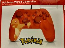 Nintendo Switch Officially Licensed Wired Controller Blaze Charmander New Sealed