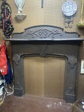Beautiful Antique fireplace mantle Approximately 59 1/2 Inches Tall