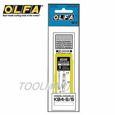 OLFA KB4-S/5 Blade 5 blades for professional art knife in a plastic case AK-4