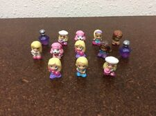 Squinkies Lot Of 13 Barbie Doll Girls Dog Perfume #28