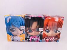 Qposket Figure  Rei & Asuka & Mari 3 set !! New