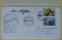 s1370) Raumfahrt Space Apollo -Soyuz Tracking NASA Madrid / Autopen Tom Stafford