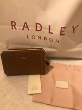Genuine RADLEY brown leather new purse, dust bag