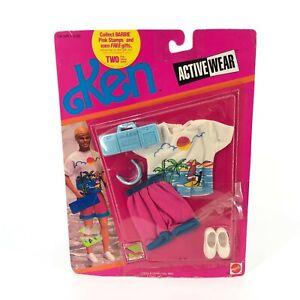 Barbie Ken Active Wear Beach Fashion and Accessories 1990