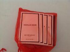 DAHLIA  NOIR GIVENCHY PARFUME SET OF 4 SAMPLES, NEW