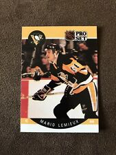 1990 Mario Lemieux NHL Pro Set #236 Hockey Card