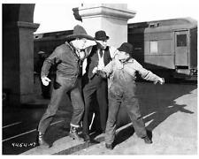 RUNAWAY EXPRESS great 8x10 train scene still JACK DOUGHERTY -- d651