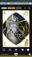 Topps Bunt 2020 Charlie Morton Pristine Gold Signature Relic Digital Card Rays